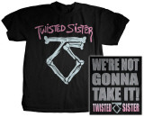 Twisted Sister - We're Not Gonna Take It Shirts