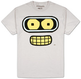 Futurama - Bender Face Camisetas