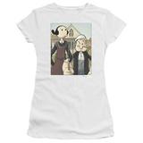 Juniors: Popeye - Popeye Gothic T-Shirt