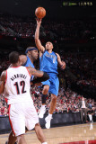 Dallas Mavericks v Portland Trail Blazers - Game Three, Portland, OR - APRIL 21: Shawn Marion Photographic Print by Sam Forencich