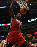 Miami Heat v Chicago Bulls - Game Two, Chicago, IL - MAY 18: LeBron James Foto af Jonathan Daniel