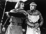 Alan Hale and Douglas Fairbanks: Robin Hood, 1922 Photographic Print