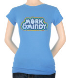 Juniors: Distressed Mork Logo Camiseta