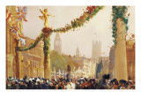 Coronation of King George V Giclee Print by George Hyde Pownall