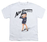 Youth: Betty Boop - Air Force Boop Shirt