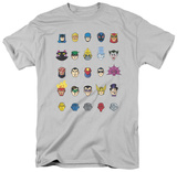 Batman - Head Shots T-shirts