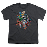 Youth: Justic League America - Starburst T-Shirt