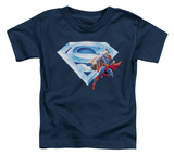 Toddler: Superman - Superman &amp; Crystal Logo T-shirts