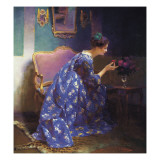 A Perfect Scent Giclee Print by Viktor Schramm