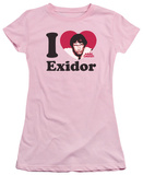 Juniors: I Heart Exidor T-Shirt
