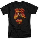 Superman - Man on Fire Shirt