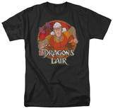 Dragon's Lair - Running Dirk T-shirts