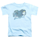 Toddler: Justic League America - Watercolor Hair T-shirts