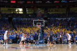 Memphis Grizzlies v Oklahoma City Thunder - Game One, Oklahoma City, OK - MAY 1: Zach Randolph Photographic Print by Joe Murphy