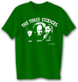 3 Stooges Silhouette T-shirts