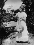 Huguette Duflos: Mademoiselle De La Seiglière, 1920 Photographic Print