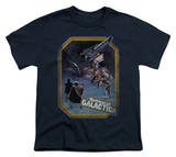 Youth: Battlestar Galactica - Poster Iorn on T-Shirt
