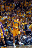 Los Angeles Lakers v New Orleans Hornets, New Orleans, LA - APRIL 22: Trevor Ariza Photographic Print by Layne Murdoch