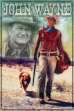 John Wayne Walking Posters