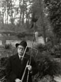 Jean Rostand, April 24, 1959 Photographic Print by Luc Fournol
