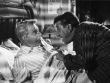 Jean Gabin and Fernandel: L'Âge Ingrat, 1964 Photographic Print by Marcel Dole