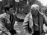 Jean Gabin and Georges Géret: Le Tonnerre de Dieu, 1965 Photographic Print by Marcel Dole