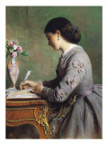The Letter Giclee Print by Abraham Salomon
