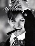 Claudia Cardinale Fotografisk trykk av Luc Fournol