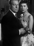 Jean Gabin et Françoise Christophe Victor, 1951 Photographie par  Limot