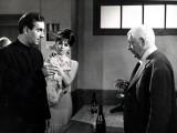 Daniel Ceccaldi, Michèle Mercier and Jean Gabin: Le Tonnerre de Dieu, 1965 Photographic Print by Marcel Dole
