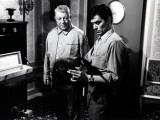 Jean Gabin et Alain Delon : Mélodie en sous-sol, 1963 Reproduction photographique par Marcel Dole