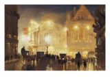 Theater Time Giclee Print by George Hyde Pownall