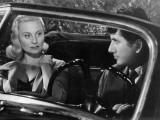 Daniel Gélin et de Michèle Morgan : Retour de Manivelle, 1957 Reproduction photographique par Marcel Dole