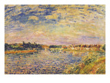 The River Seine Giclee Print by Alfred Sisley
