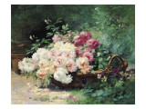 The Roses Giclee Print by Albert Tibule Furcy de Lavault