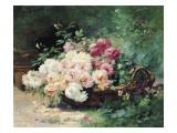 The Roses Giclee Print by Albert Tibule Furcy de Lavault