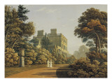 Higham House in Woodford Giclee Print by John Varley