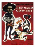 Fernand Cow-Boy, 1956 Photographic Print by Marcel Dole