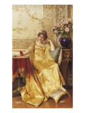 A Moment of Reflection Giclee Print by Joseph Frederic Soulacroix
