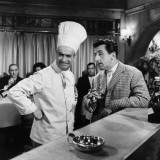 Jean Lefebvre and Louis de Funès: Le Gentleman D'Epsom, 1962 Photographic Print by Marcel Dole