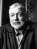 Ernest Hemingway (1899-1961) Fotografisk trykk av Luc Fournol