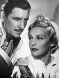 Ronald Colman and Madeleine Carroll: The Prisoner of Zenda, 1937 Lámina fotográfica