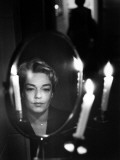 Simone Signoret (1921-1985) Photographic Print by Luc Fournol