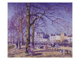 Hyde Park Giclee Print by Alice Taite Fanner