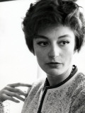 Anouk Aimée Reproduction photographique par Luc Fournol