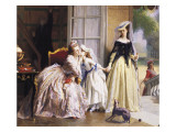 The Morning Stroll Giclee Print by Joseph Caraud