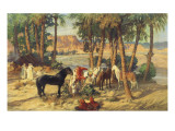 A Rest in the Shade Giclee Print by Frederick Arthur Bridgman