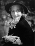 Mich&#232;le Morgan, 1939 Photographic Print by  Limot