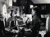 Jean-Claude Brialy and Danielle Darrieux: Les Lions Sont Lâchés, 1961 Photographic Print by Marcel Dole