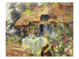Summer in the Garden Giclee Print by Henri-Gaston Darien